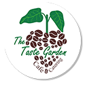 The Taste Garden Cafe Logo